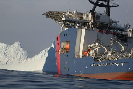 On patrol in the Southern Ocean. Image courtesy of Australian Government.