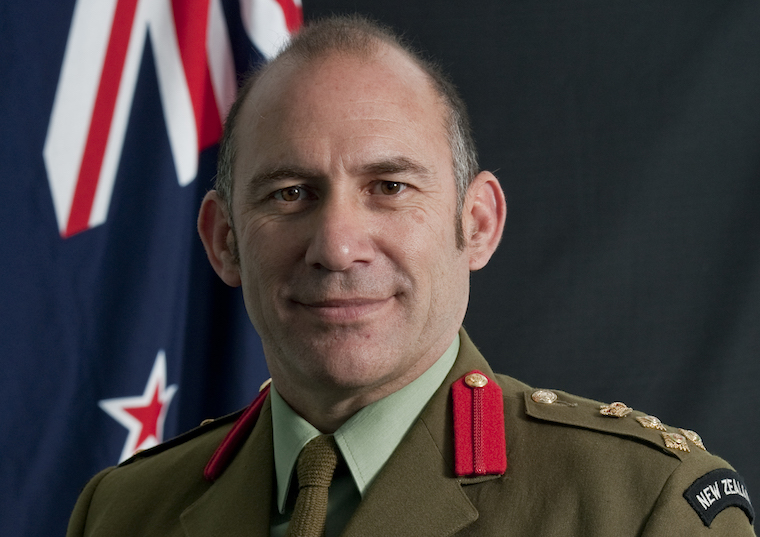 Chief of Army, Major General Peter Kelly.