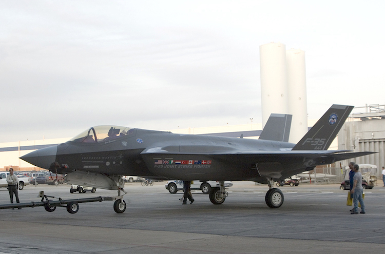 A USAF F-35A. Military assets are becoming more complex.