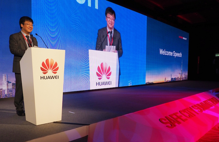 Fan Siyong, President of Public Sector of Huawei Enterprise Business Group