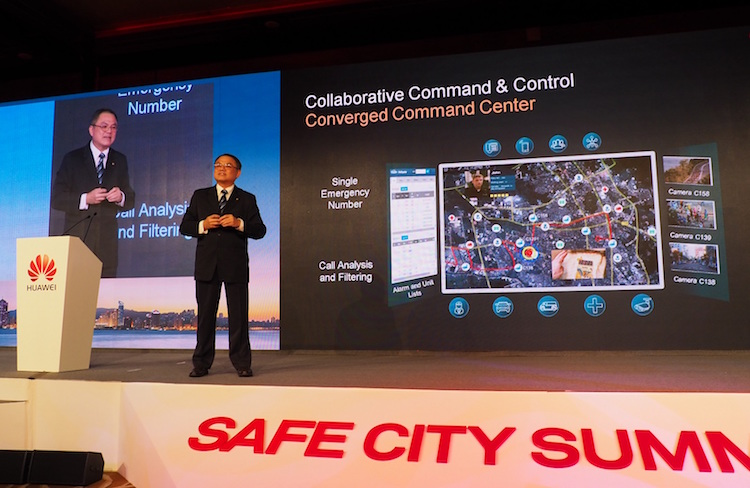 Hong-Eng Koh, Global Chief Public Safety Expert of Huawei Enterprise Business Group
