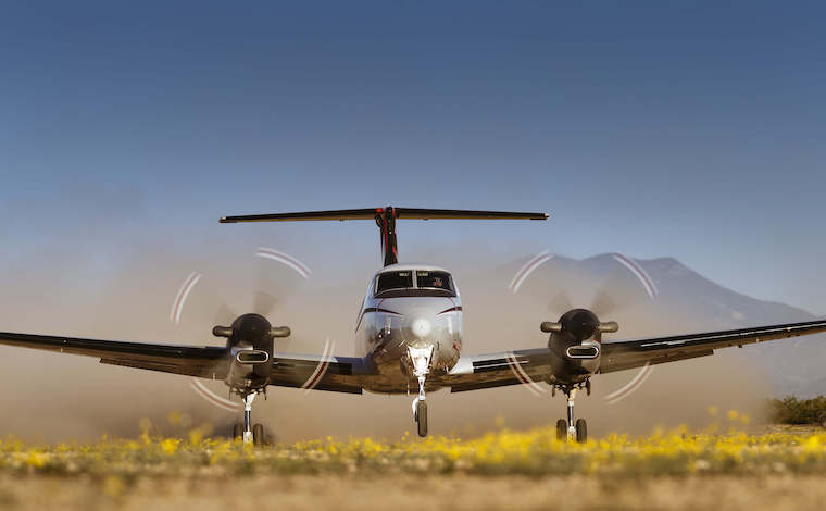 A KingAir KA-350ER. Courtesy Beechcraft.
