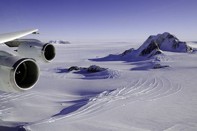 Marie Byrd Land, Antarctica. Image courtesy of NASA.