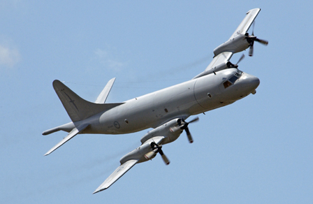 NZAF P-3K2 Orion. Image courtesy New Zealand Defence Force.