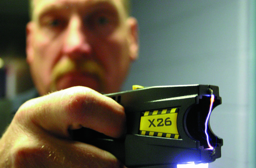 Stunning results: Tasers shown to de-escalate violent and threatening situations.