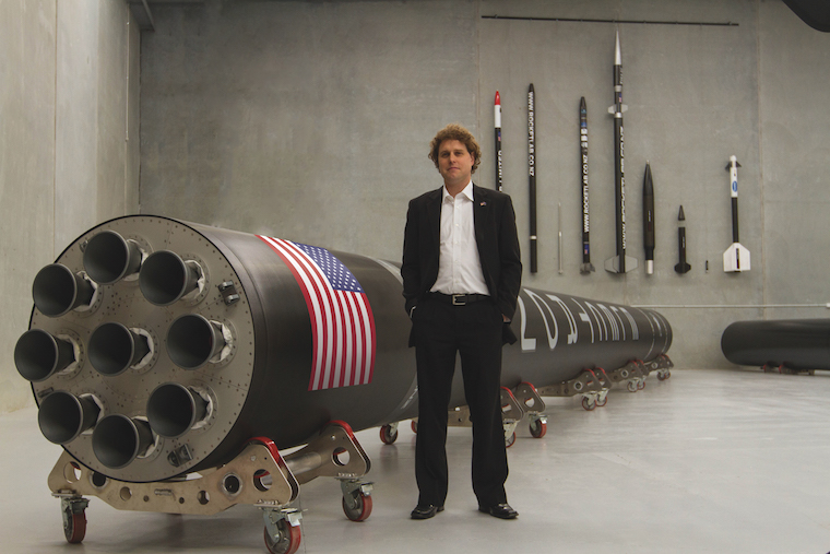 Founder, CEO and CTO of Rocket Lab, Peter Beck.