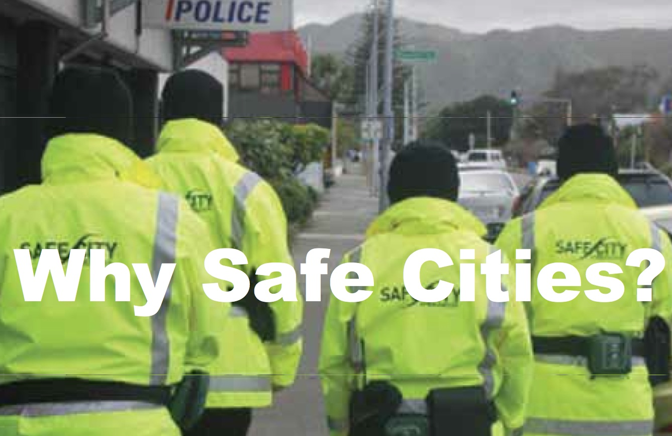 Safe cities: CPTED and community, council and law enforcement partnerships have led to crime prevention.