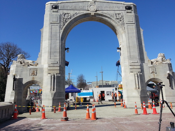 Triumphal Arch, Christchurch.