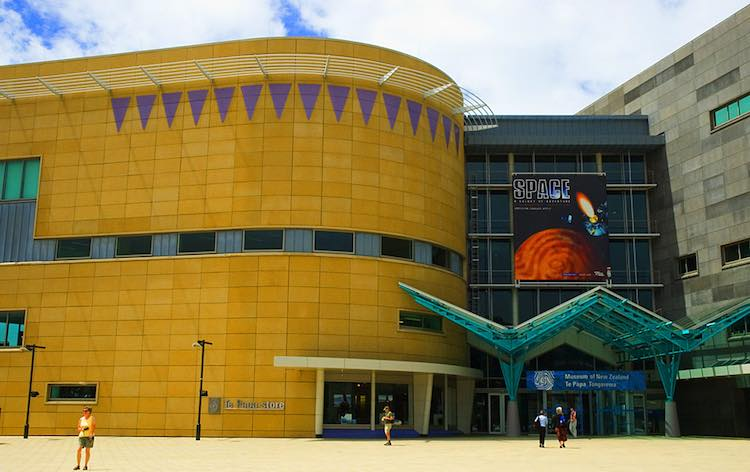 Te Papa - venue for the 2017 NZSA Security Industry Awards Night (Detail from image by JShook)